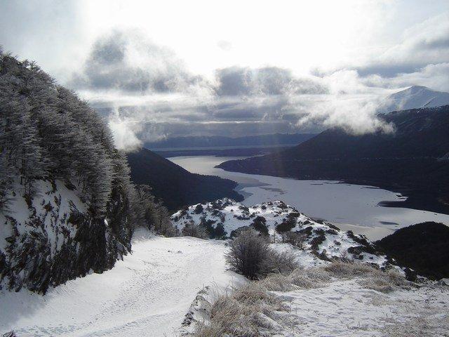 Around Ushuaia, overlooking lake Fagnano
