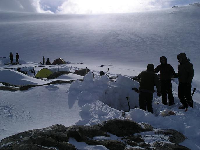 Camp 1 Wapta