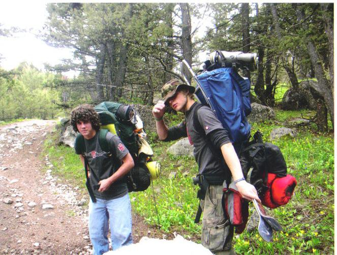Startin the Hike