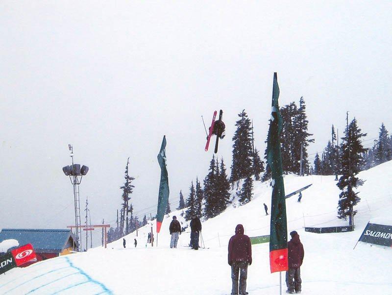 Charley Ager - WSI slopestyle shack underflip