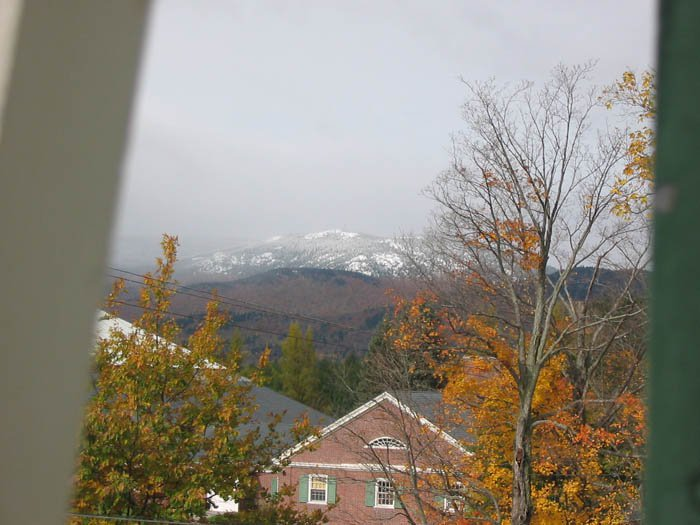 sunday river View out my window