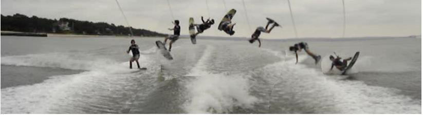 Wakeboarding tantrum (backflip)