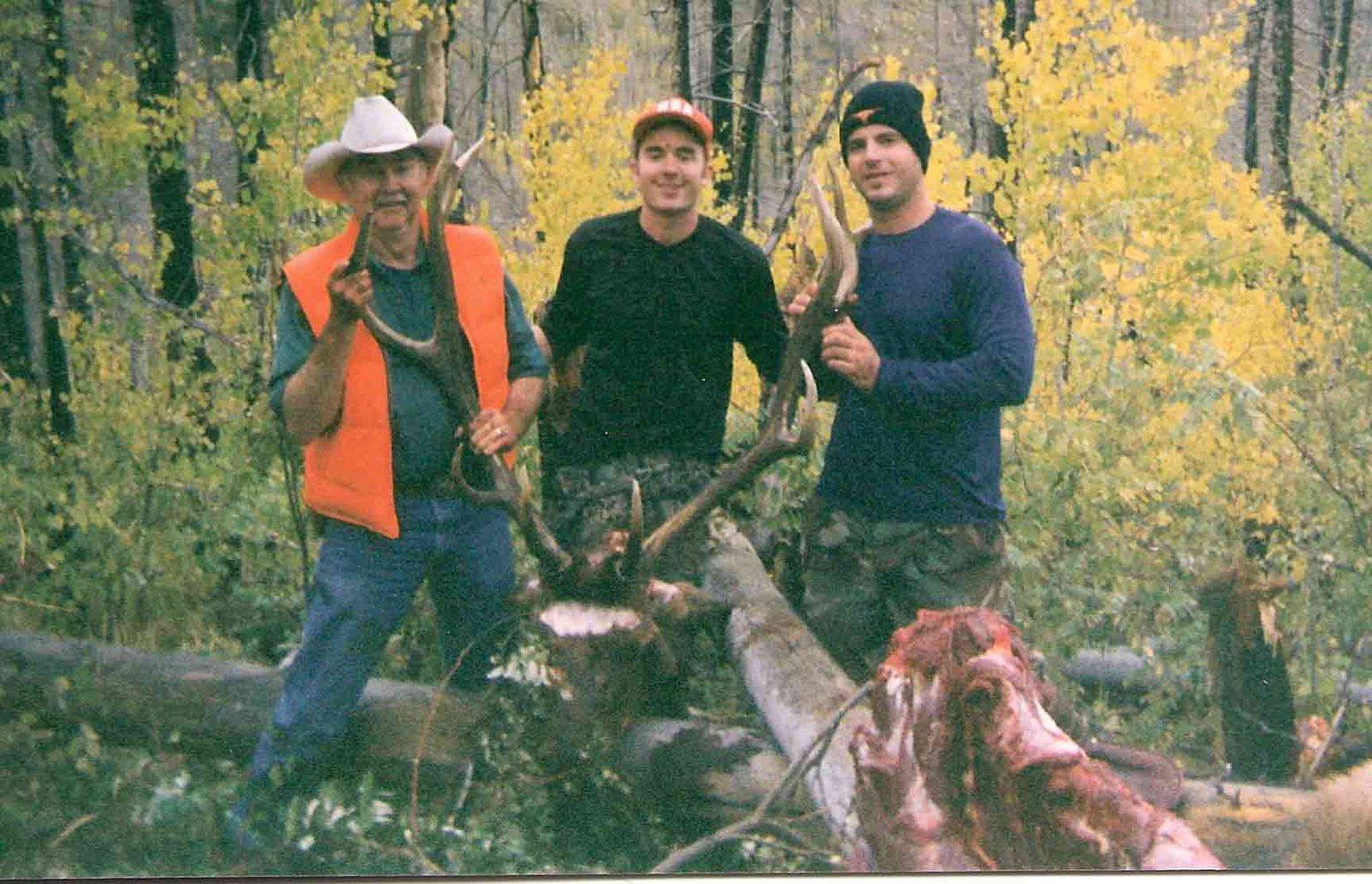 Carothers got a elk