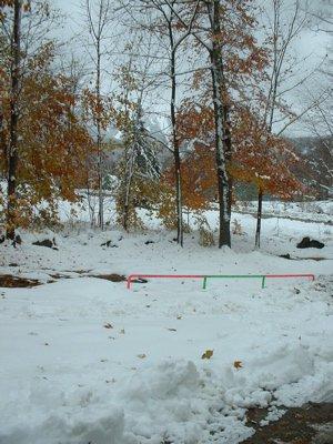 THE SNOW ATE MY RAIL!!!