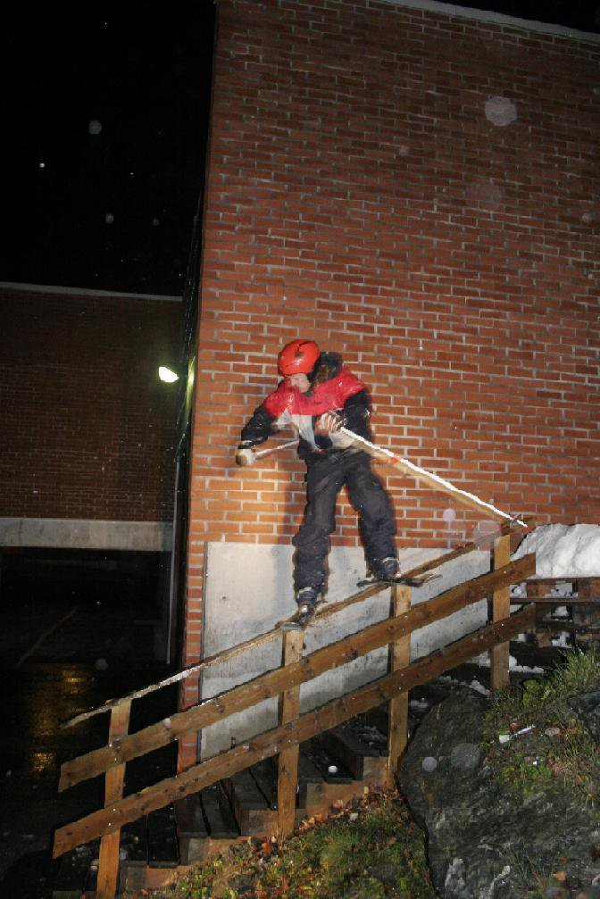 Urban railing in Rain!!!