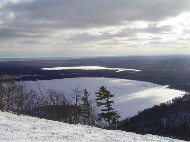 View from top of Mount Bohemia