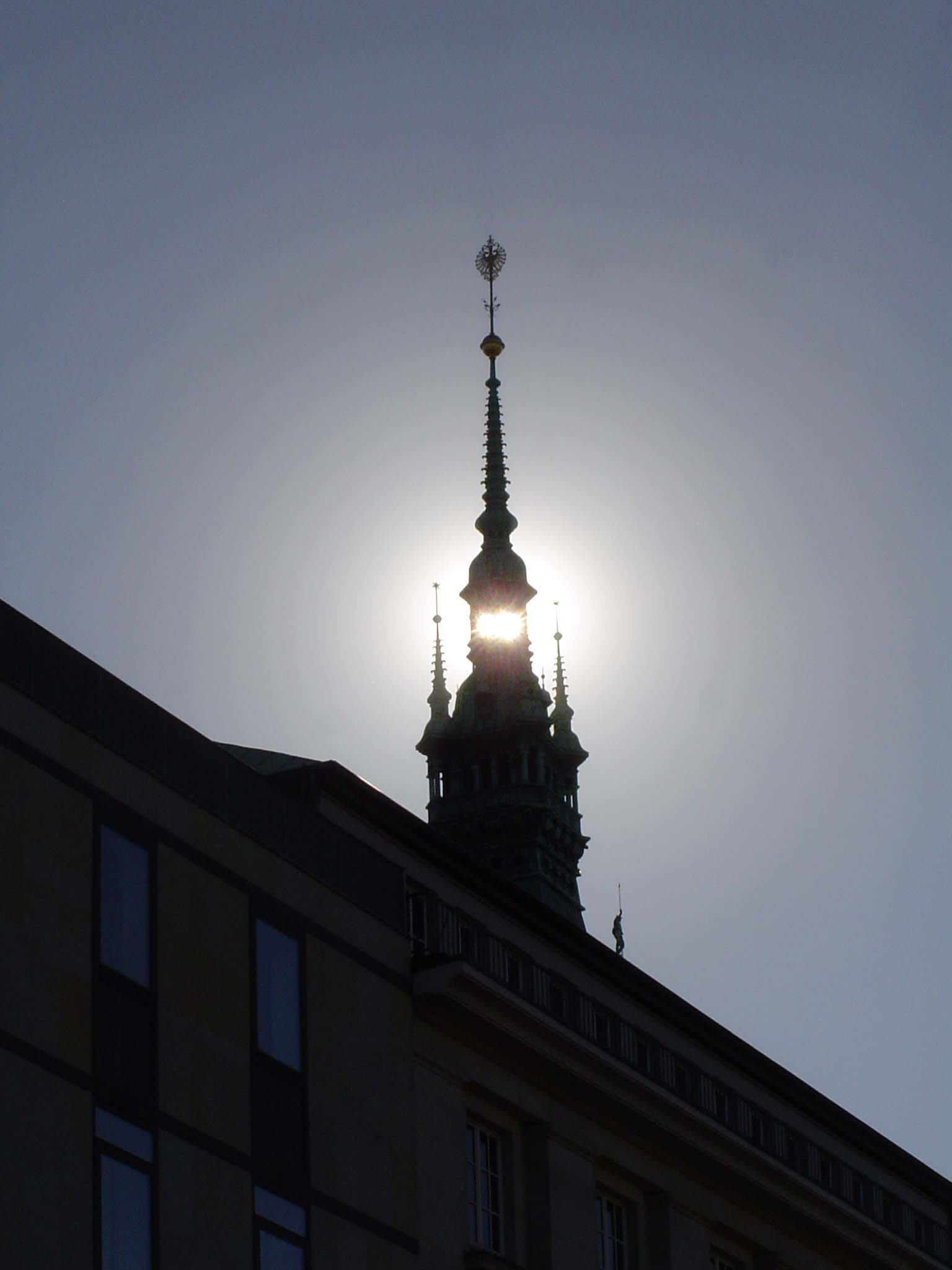 Bell Tower with Sun