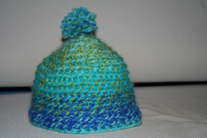 My crocheted had2