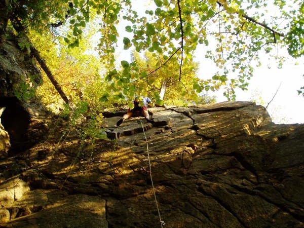Nice lead climb...