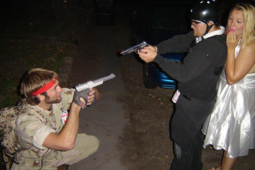 Terrorist vs. Counter-Terrorist (for all you CS players)