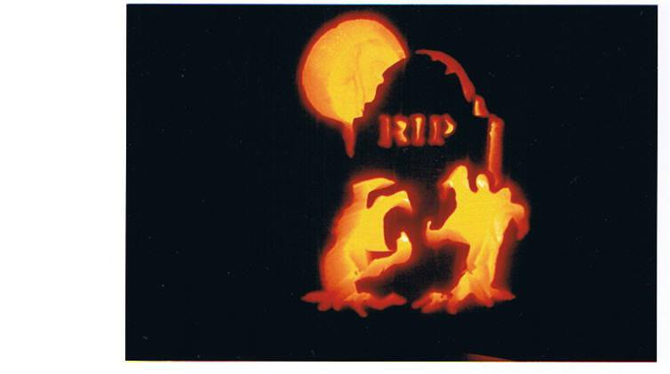 i carved this one.  i was taught well.