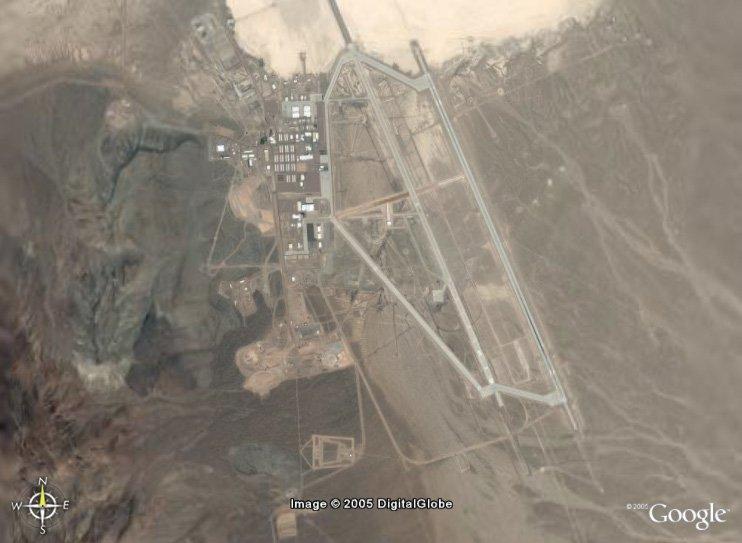 Area 51 - Google Earty