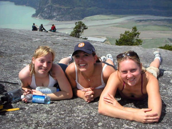Hiking the Chief-Summer 2005