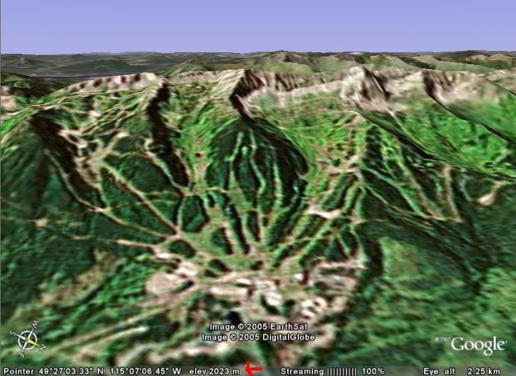 google earth fernie