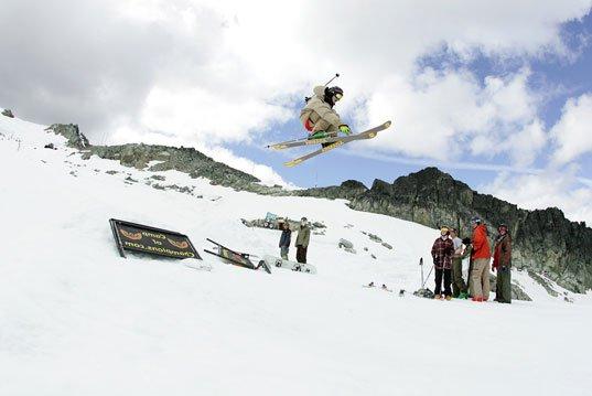 40 ft jump at camp
