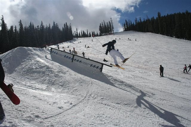 Bailing Flat down rail abasin
