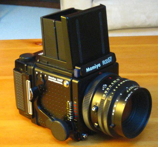 My baby (Mamiya RZ Pro w/ RB 127mm KL L