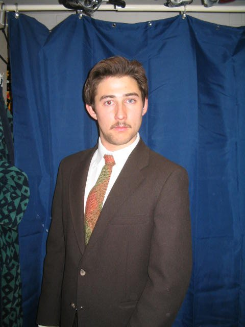 Ron Burgandy REAL MUSTACHE