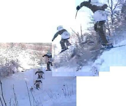 October Cliff Drop Sequence