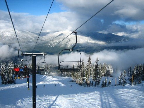 Opening day at Whistler (Blackcomb)