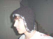 VLACK CAMO BORDER HAT