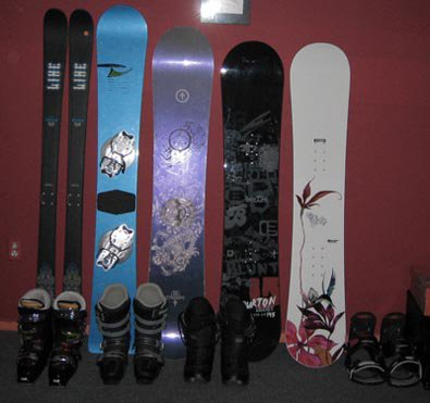 my equipment for this winter