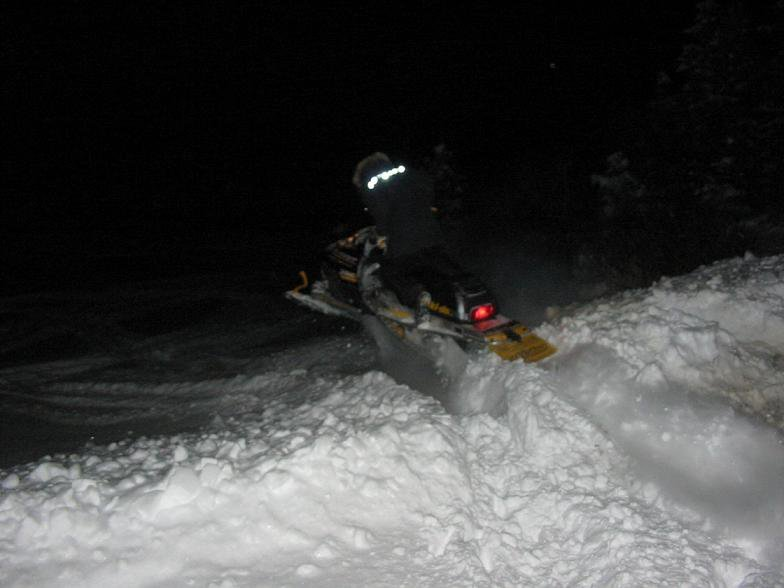 got the sled out !!