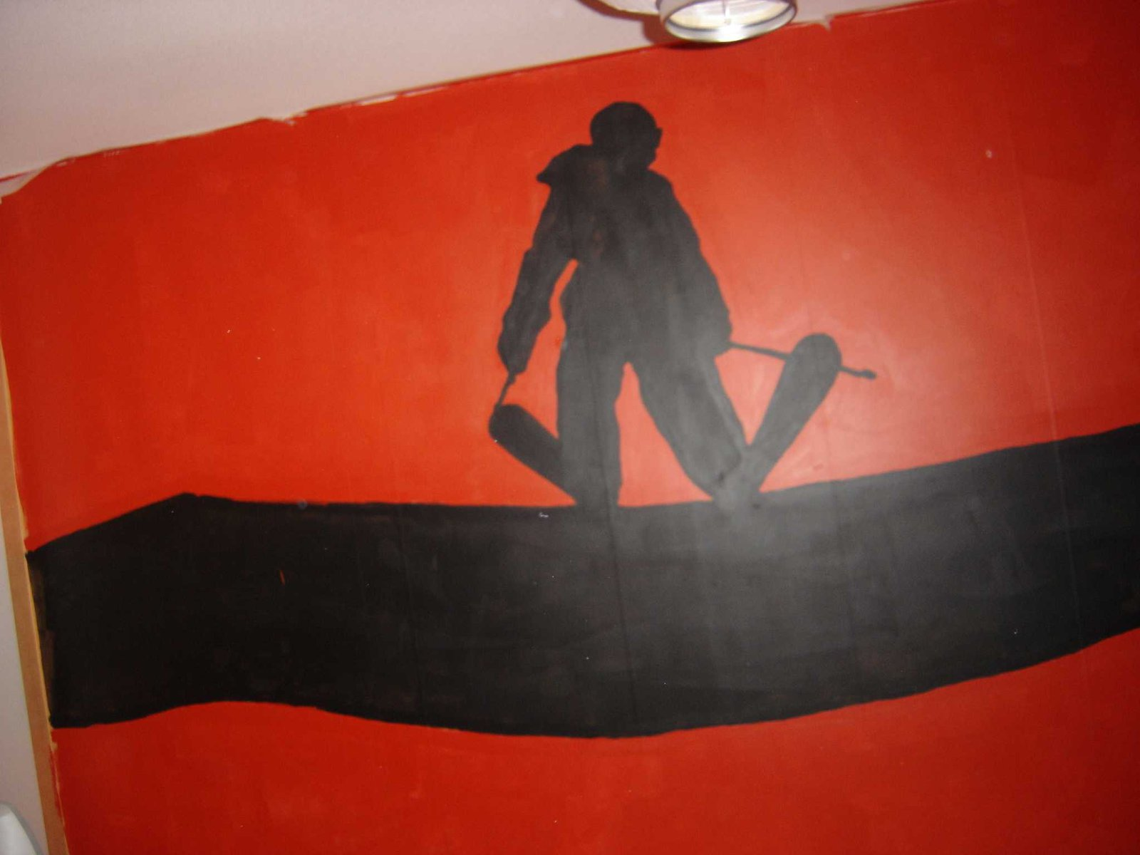 my new wall painting..one and only