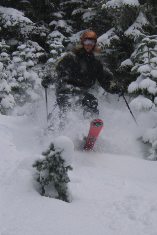 Ripping Early Powder