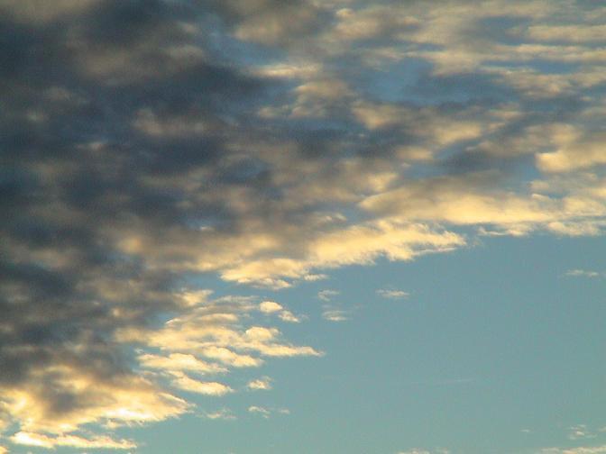 Sky At the peak (sunset)