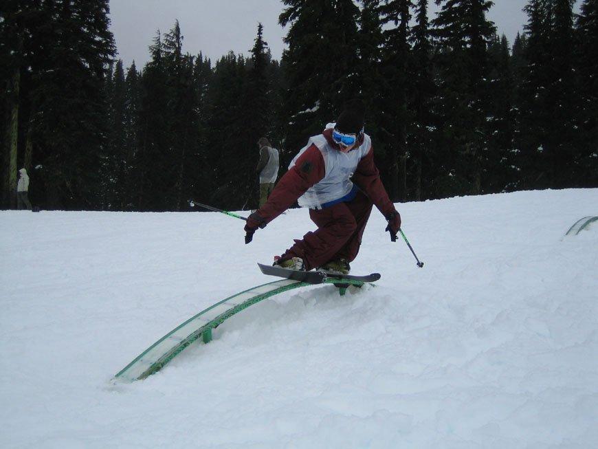 Extreme Snowblading