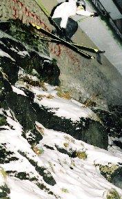 urban cliff drop