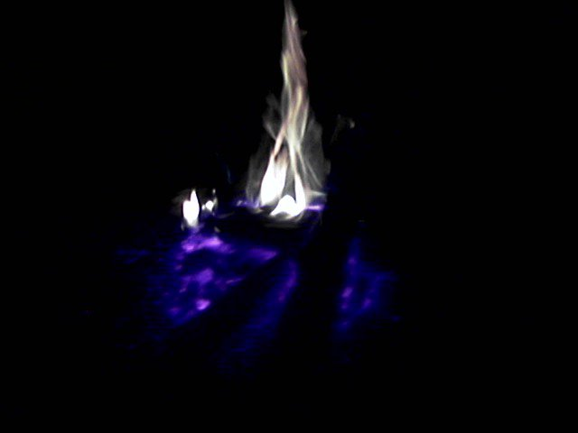 fire at night