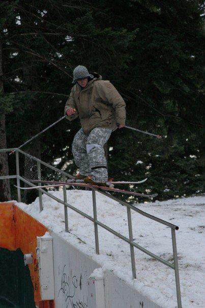 Handrail unnatty (last weekend)