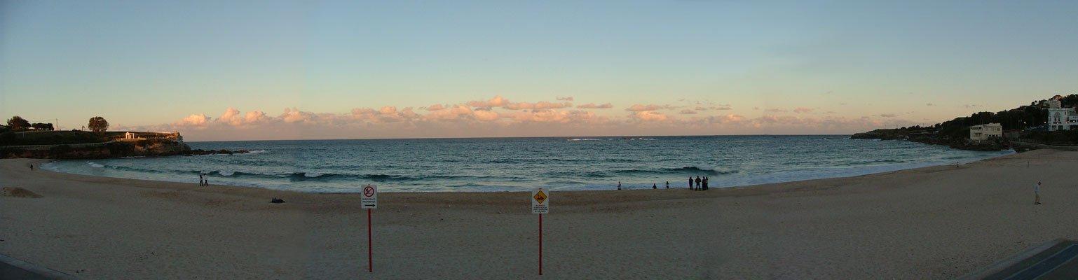 Panorama Cooge Beach, Australia