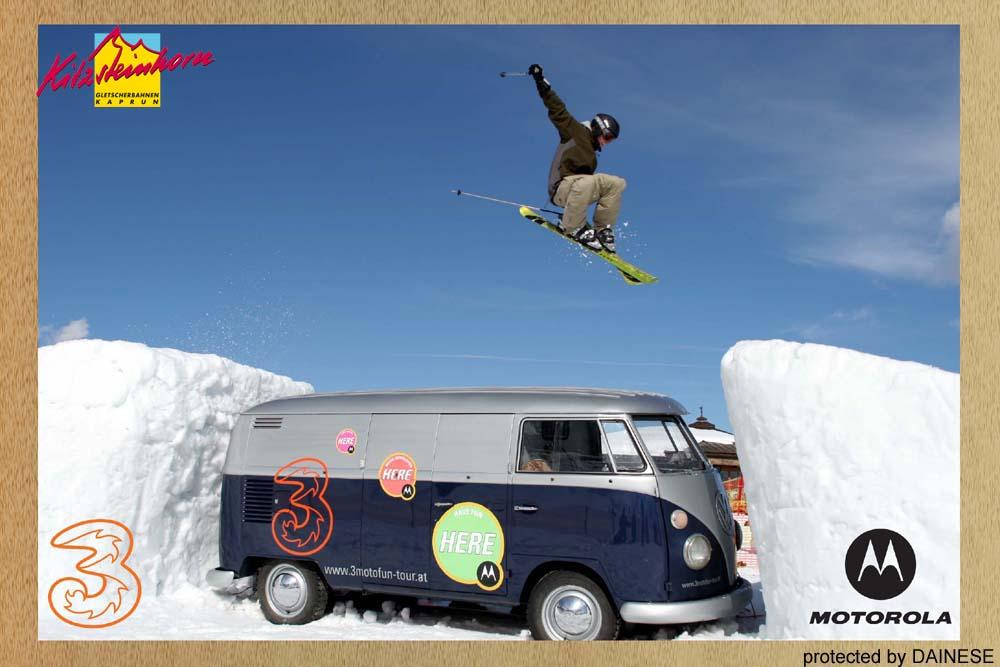 jumP over a hippie bus
