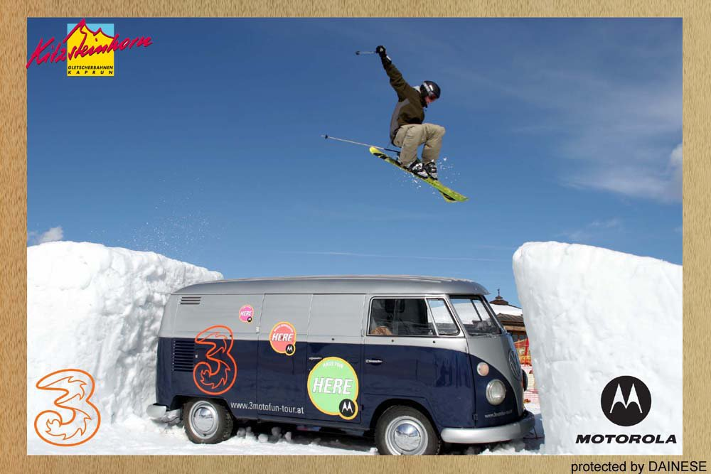 jumP over a hippie bus