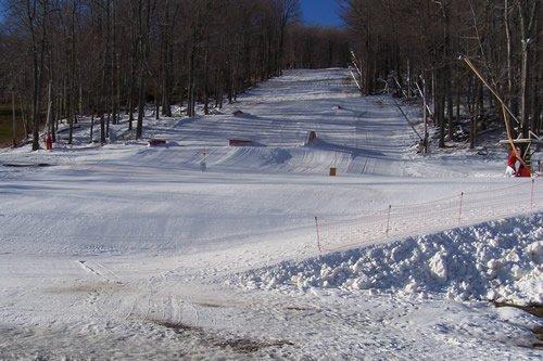 Skiing Already!