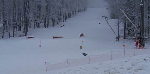 Belleayre Mtn's Rail Park as of 11/22