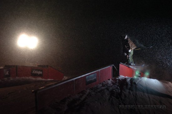 Bren Steezes the rail at killy nite jam
