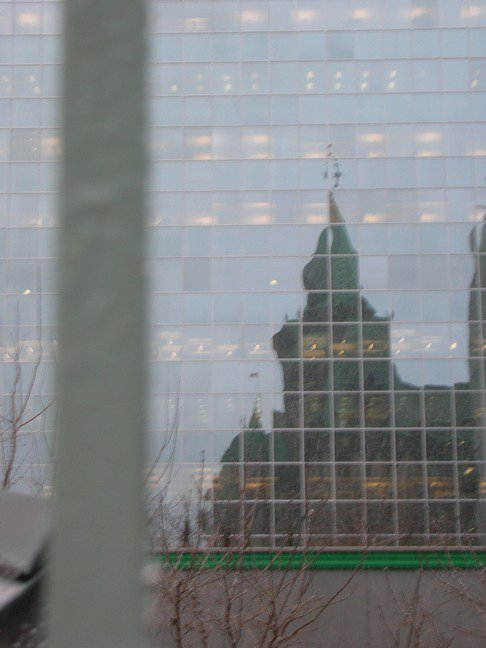 Parliament Reflection