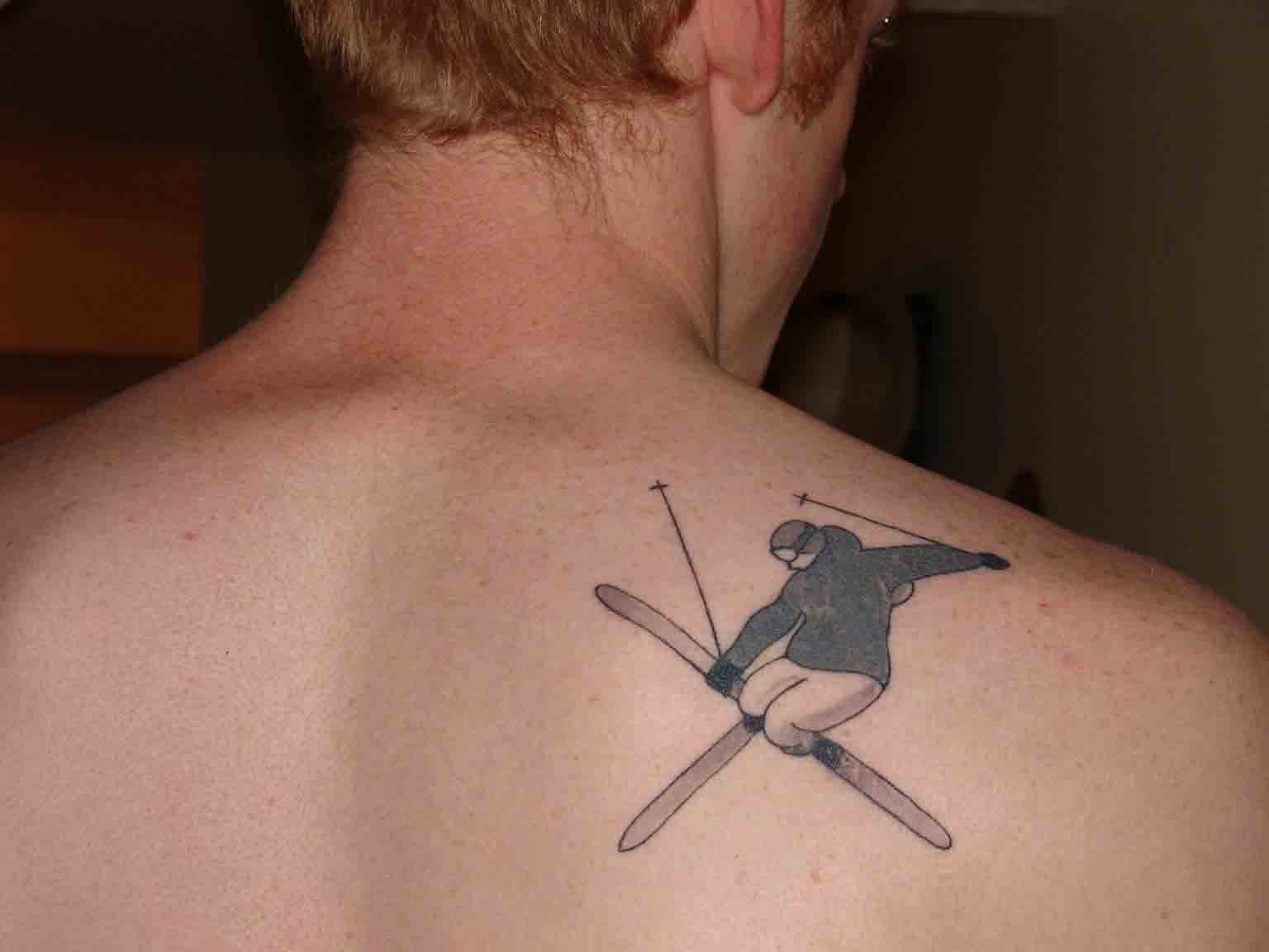 My skiier tatoo