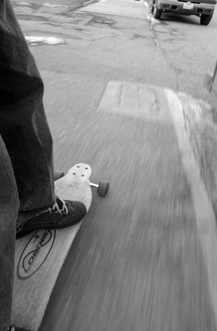 ride the concrete