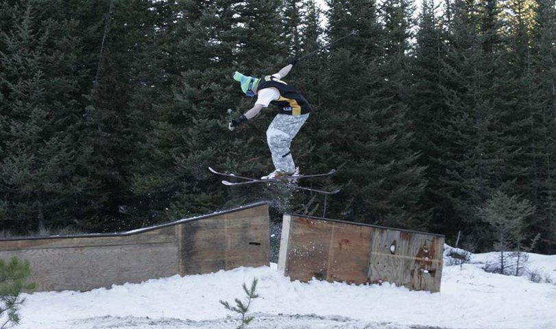 BS Switch-up in the backcountry