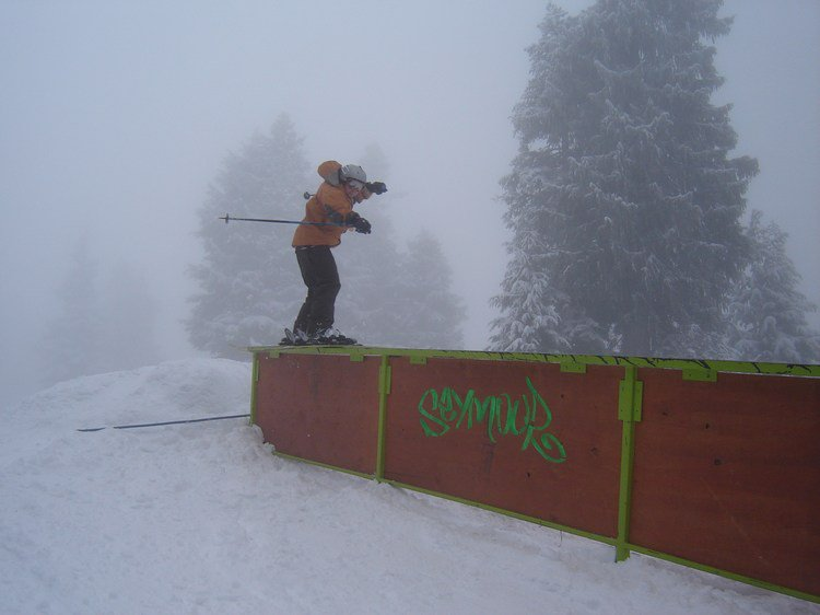 first rail of the season