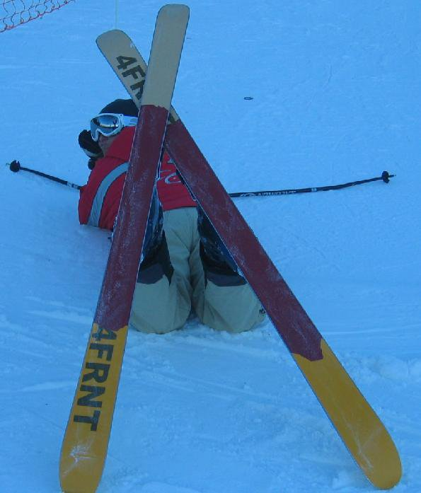Getting confortable on the slopes