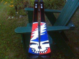 Grateful Dead skis