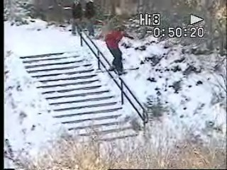 First handrail of the season