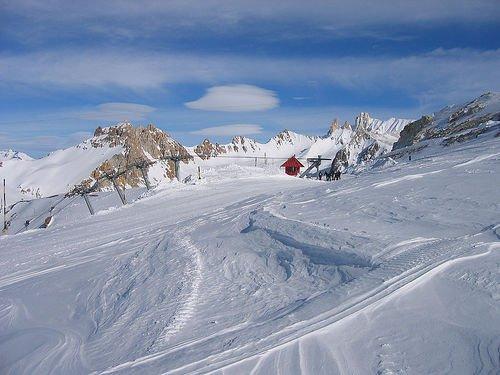 marte lift, top of las lenas.(11.253 ft)