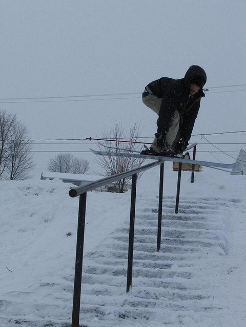 Stairs for Quebecfreestyler